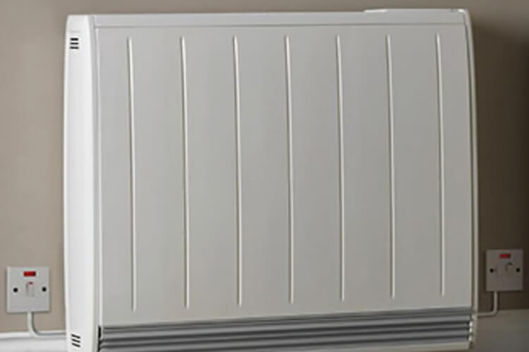 first time central heating scheme